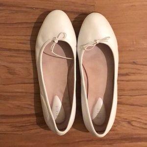 Bloch White Ballet Flats